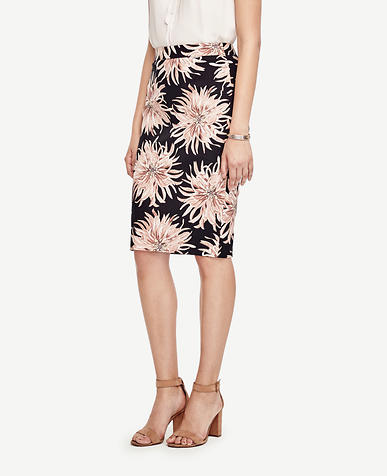 Image of Chrysanthemum Pencil Skirt