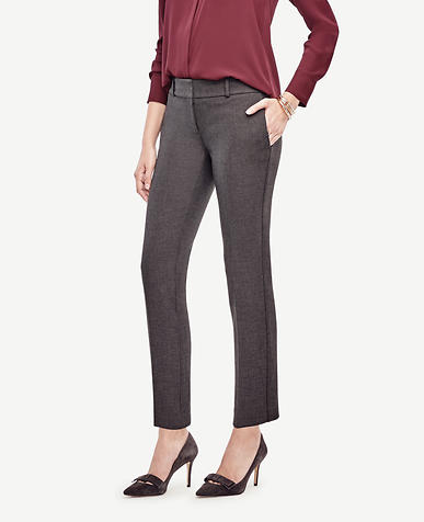 Image of The Tall Ankle Pant in Doublecloth - Kate Fit