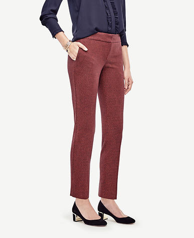 Image of Petite Devin Geo Everyday Ankle Pants