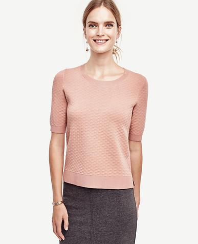 Image of Diamond Stitch Sweater