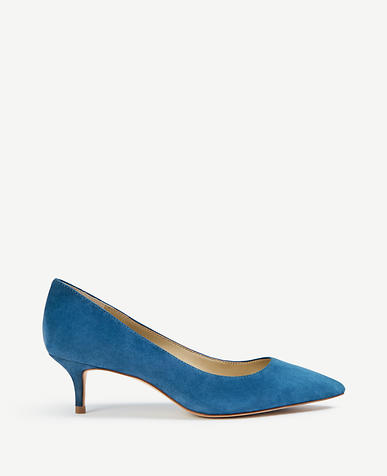 Image of Reese Suede Pumps