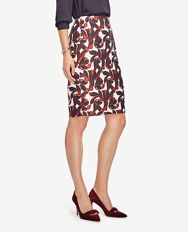 Image of Vine Pencil Skirt