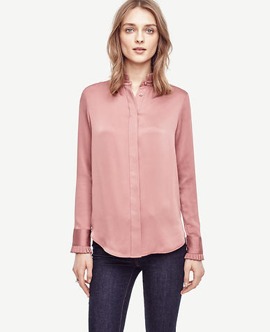 Image of Ruffle Cuff Blouse