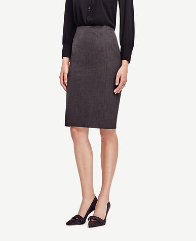 Image of Tall All-Season Stretch Back Pleat Skirt