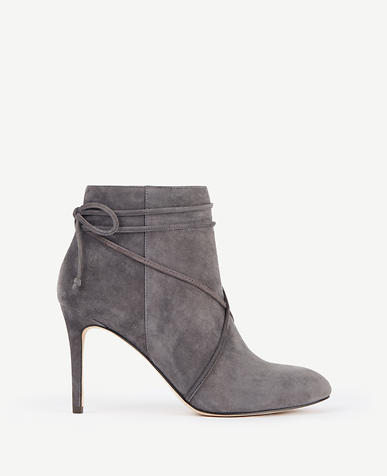 Image of Cecilia Suede Lace Up Booties