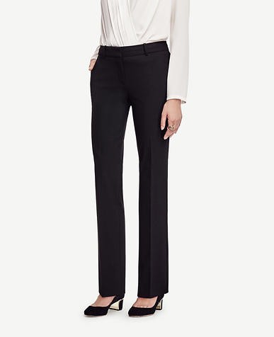 Image of The Petite Straight Leg Pant in All-Season Stretch - Kate Fit