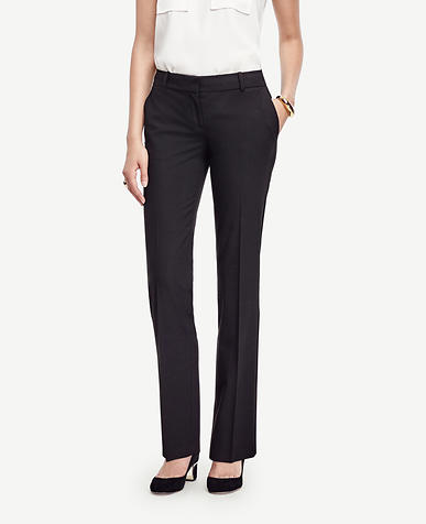 Image of The Petite Straight Leg Pant in All-Season Stretch - Ann Fit