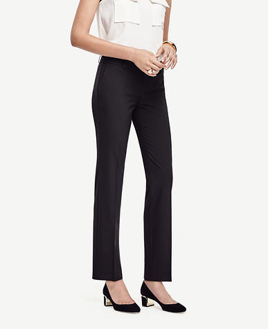 Image of The Petite Straight Leg Pant in All-Season Stretch - Devin Fit