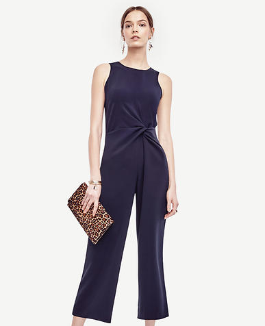 Image of Knot Sleeveless Jumpsuit