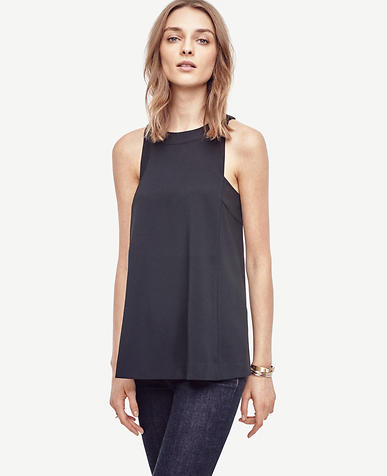 Image of Back Bow Sleeveless Top