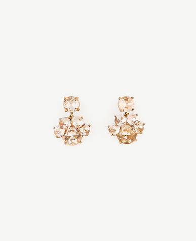 Image of Floating Crystal Stud Earrings