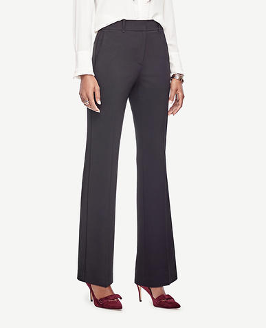 Triacetate High Waist Flare Trousers