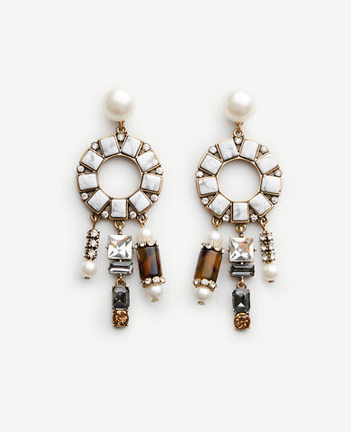 Image of Geometric Statement Earrings