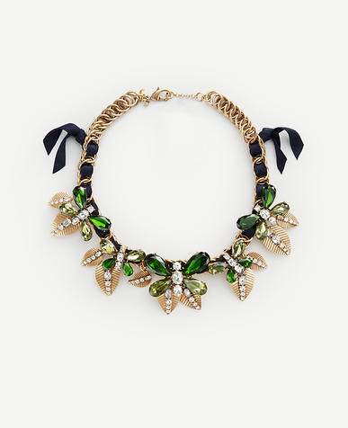 Image of Butterfly Statement Necklace