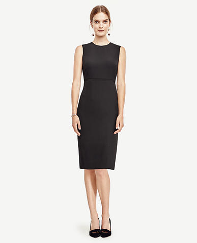 Image of Petite All-Season Stretch Sheath Dress