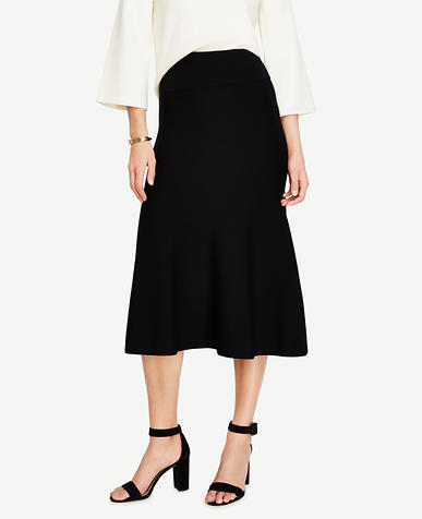 Image of Midi Sweater Skirt