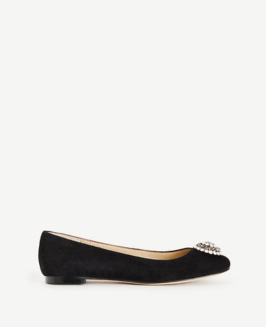 Image of Alta Charm Suede Flats