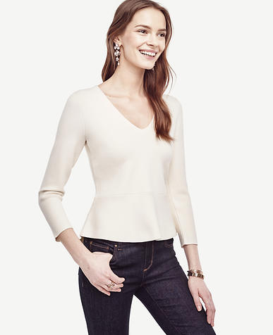 Image of Peplum Sweater