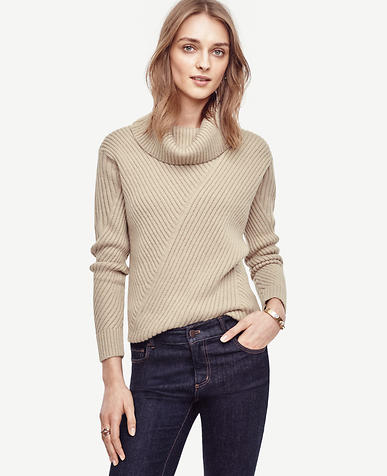 Image of Aran Cowlneck Sweater