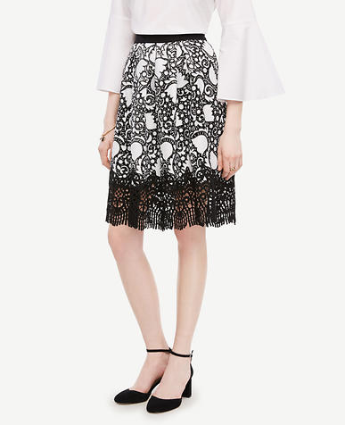 Image of Tulip Lace Full Skirt