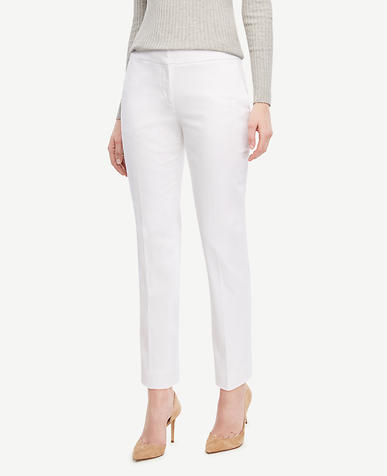 Image of The Ankle Pant in Cotton Sateen - Devin Fit
