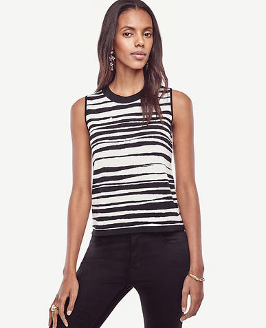 Image of Zebra Cropped Ann Shell