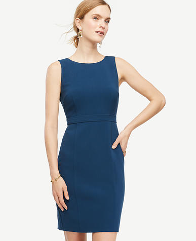 Image of Square Back Sheath Dress