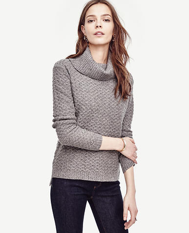 Image of Cashmere Cowl Neck Sweater