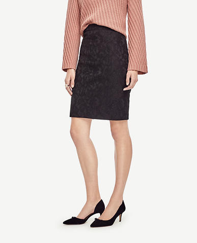 Image of Lace Pencil Skirt