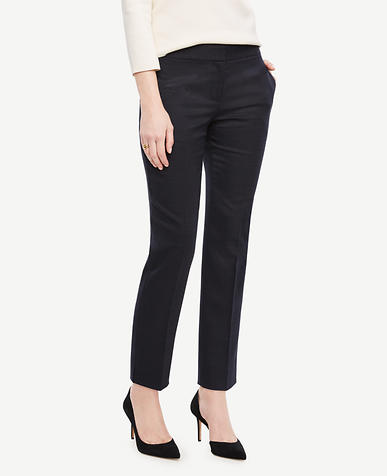 Image of The Ankle Pant in Pindot - Devin Fit