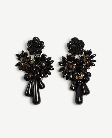Image of Floral Stone Earrings
