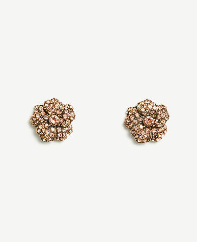 Image of Crystal Flower Studs