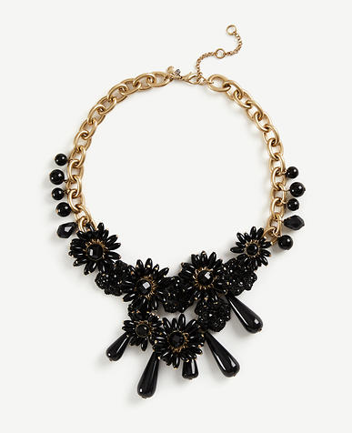 Image of Flower Charm Statement Necklace