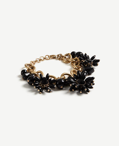 Image of Floral Stone Statement Bracelet