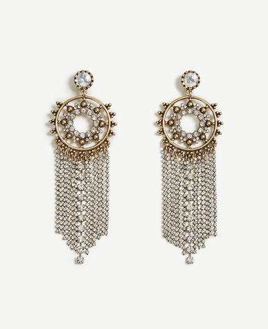 Image of Crystal Chandelier Earrings