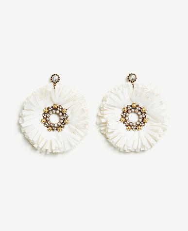 Image of Raffia Statement Earrings