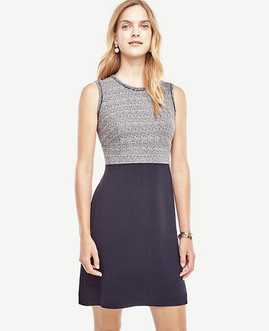 Image of Tweedy Flare Dress