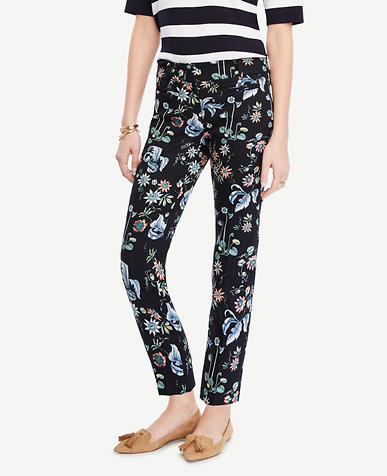 Image of The Crop Pant in Wild Flower - Devin Fit