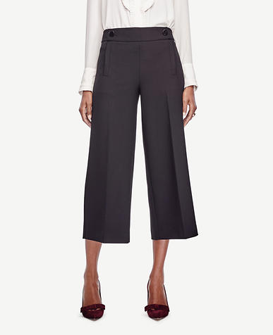 Image of Mariner Wide Leg Crop Pants