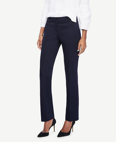 Image of Kate Sateen Straight Leg Pants