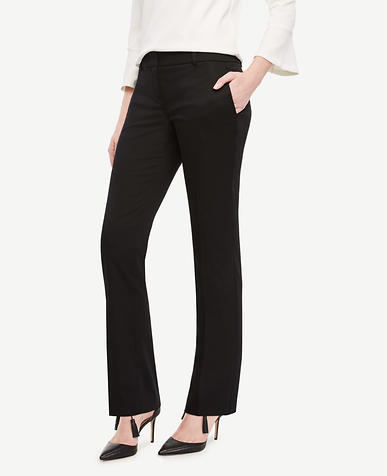 Image of The Straight Leg Pant in Cotton Sateen - Kate Fit