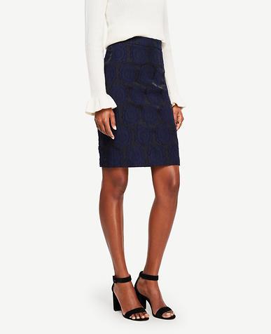 Image of Clip Jacquard Skirt