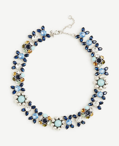 Image of Blue Bandana Necklace