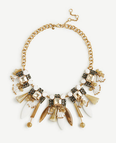 Image of Resin Petal Statement Necklace