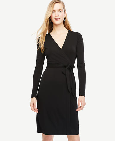 Image of Tall Always On Wrap Dress