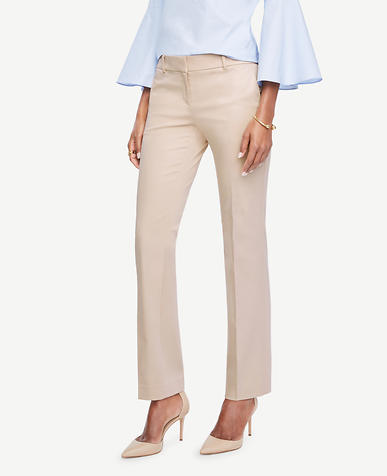 Image of The Tall Straight Leg Pant in Cotton Sateen - Kate Fit