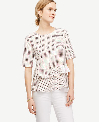 Image of Daisy Tiered Ruffle Hem Top