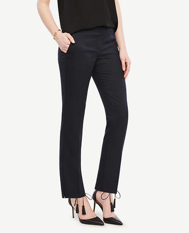 Image of The Ankle Pant in Pindot - Kate Fit
