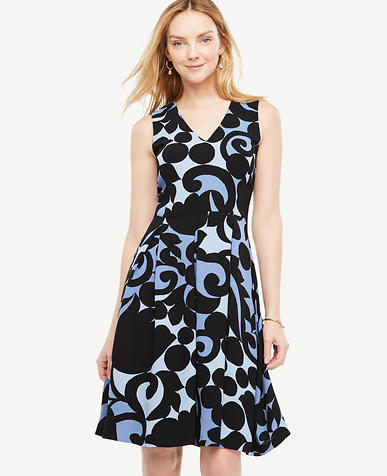 Image of Petite Tulip Flare Dress