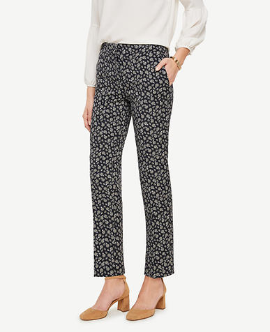 Image of The Petite Ankle Pant in Budding Blossoms - Kate Fit
